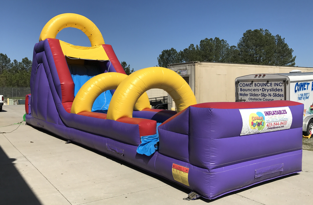 18' Flume Inflatable Water Slide Rental